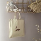 Mini tote bag faon