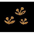 Miniatures feuilles d'automne