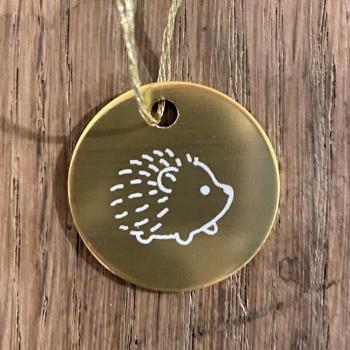 Médaille hérisson