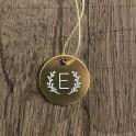Médaille monogramme et couronne