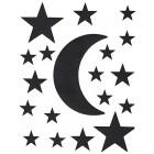 planches Stickers lunes et étoiles