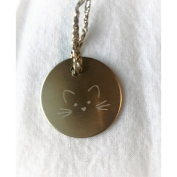 Médaille Chat