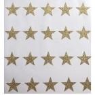 Mini stickers étoiles glitter