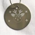 Médaille tête de biche
